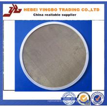Elementos de filtro de disco de filtro de malha de arame de aço inoxidável (YB-17)