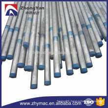ASME B36.10 ERW galvanized carbon steel pipe/tube