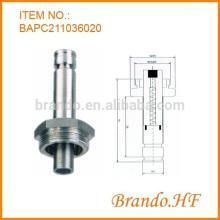 Kundenspezifische Edelstahl-Magnetventil-Solenoid-Basis-Baugruppe für pneumatische Anwendung