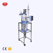 Lab Vacuum Distillation Chemical Jacket Glass Reactor Price