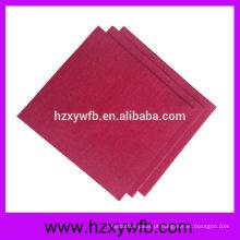 Guardanapos de papel de guardanapos de papel decorativos de uma dobra Airlaid