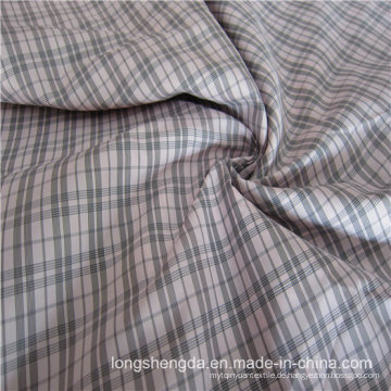 Gewebte Dobby Twill Plaid Plain Check Oxford Outdoor Jacquard 100% Polyester Stoff (X017)