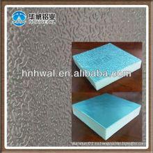 Алюминиевая фольга из тисненой штукатурки для пенополиуретановой панели