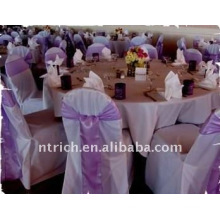 Standard banquet chair cover,CT004 polyester material,durable and easy washable