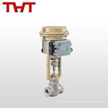 Soupape électromagnétique de régulation de pression de gaz d'aspiration d'acier inoxydable de vente chaude