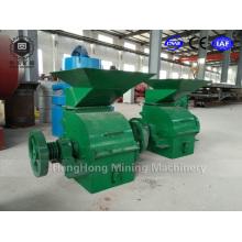 Planta de trituración Samll Molino de martillo con motor diesel