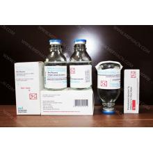Paracetamol Infusion 500mg / 50ml, Paracetamol infusão garrafa de vidro