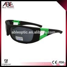 Gafas de sol del deporte del mejor precio de la venta caliente con la correa