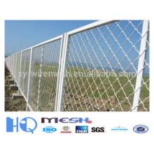 beautiful grid mesh fencing