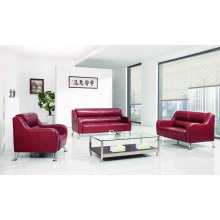 2016 Guangdong Leather Office Set Sofá (DX536)