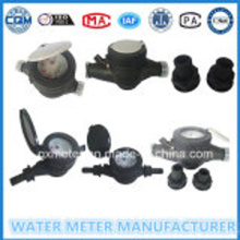 BlackPlastic Body Multi Jet WaterMeter Сухой тип
