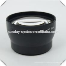 Camera tele photo lenses 58mm,VU62, 2.0X