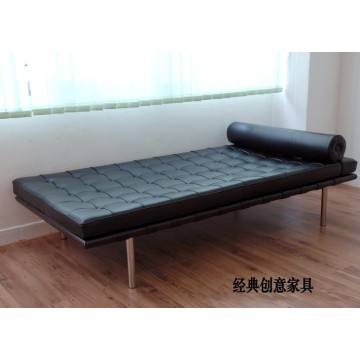 Barcelona Leather Lounge Daybed