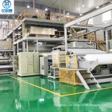 Produktionslinie für die Herstellung von schmelzgeblasenen Vliesstoffen