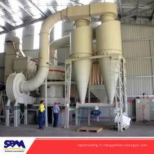Machine célèbre de fabrication de poudre de marbre de marque de SBM, moulin noir de raymond de carbone