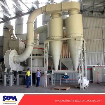 Famous SBM brand marble powder making machine, carbon black raymond mill