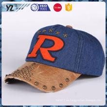 Gorra de béisbol de nylon duradera de la venta de la fábrica para la venta