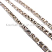 Fashion High Quality Metal Rhinestone Chain Banding