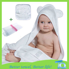 High Quality Soft 100% Cotton Animal Baby Hooded Towel