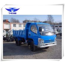 Caminhão de descarregador leve do mini caminhão de 3 toneladas 90HP da tonelada / mini caminhão basculante com levantamento dianteiro (ZB3046JDC)