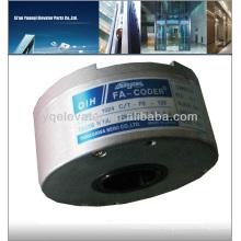 Codificador rotativo incremental TS5208N130 codificador rotatorio manual, codificador óptico rotativo