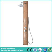Bathroom Rainfall Shower Set Bamboo Material (LT-M203)