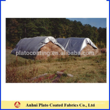 Custom weather resistant hay stack cover hay tarps