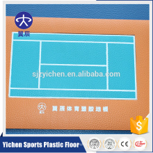 Manufacturer Promotional High Quality export wpc vinyl tennis flooring