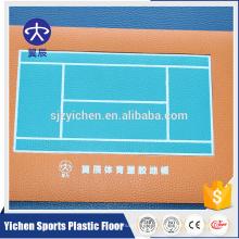 Fabricante promocional de alta qualidade exportação wpc piso de tênis de vinil