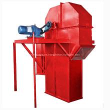 Elevador de cubo vertical de alta temperatura usado para el cemento