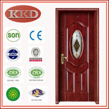 Moisture Proof Steel Wood Interior Door JKD-X1351 for Bathroom