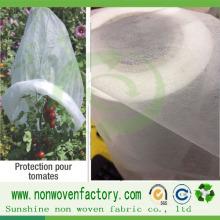 Tela no tejida de PP Spunbond para el bolso de plantación biodegradable de plantación respetuosa del medio ambiente