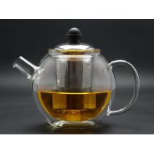 Borosilicate Hand Made Glass Pot, Borosilicate Glass Tea Pot, 700ml, 100% Hand Blown Chinese Glass Tea Pot