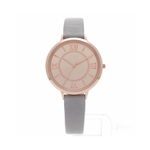 Relógio de senhora 21K Rose Gold Plated Watch