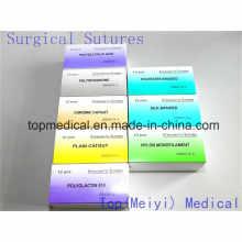 Хирургический шов (абсорбируемый и неабсорбируемый)