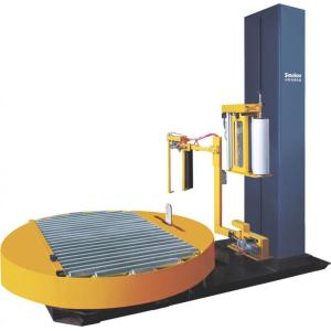 Fully Automatic Pallet Online Stretch Wrapper