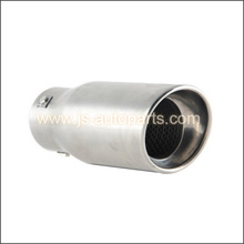 INLET 2.875 OUTLET 3.75 SLANT CUT  RESONATED SINGLE EXHAUST TIP