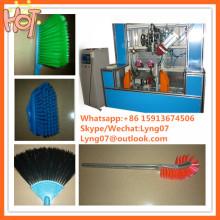 Machine de tufting de brosse d'axe de la commande numérique par ordinateur 5 / brosse hocky faisant la machine / fabricant de machine de brosse de balai