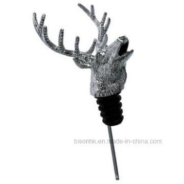 Garrafa De Vinho Deer Head Pourer