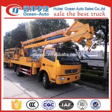 Dongfeng 3800 wheelbase 18M vehículo de trabajo de alta altitud para la venta