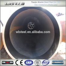 """astm a106 gr.b sch40 tubo de aço sem costura de carbono 24 """"para alimentação de fluidos"""