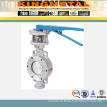 6 Inch Dn200 Wafer Stainless Steel Electric Butterfly Valve