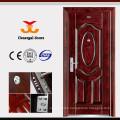 ISO9001 Rust resistant galvanized steel door