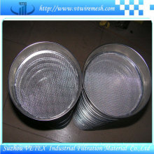 Sample Sieve with SGS Report