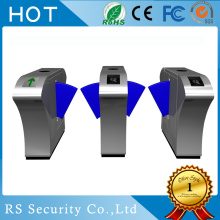 RFID Reader Visitor Management System Flap Barrier