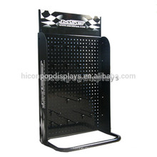 Black Pegboard Tabletop Metall Haken Zubehör Marketing Hanging Display Ständer für Mobile Zubehör