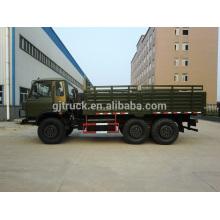 Dongfeng 6x6 camión militar en venta DFS5160 camión volquete