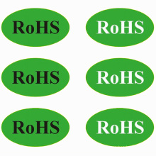 RoHS Approved Self-Adhesive Aufkleber Label