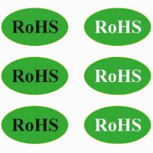 Étiquette d'autocollant auto-adhésif homologué RoHS