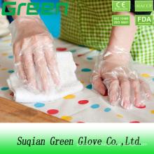 Kunststoff-Einweg-Chemikalien-resistente Handschuhe